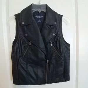 American Eagle Outfitters Moto Vest